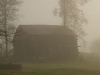 Barn in Fog© KY