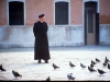 Padre And His Flock©/ Venice, Italy